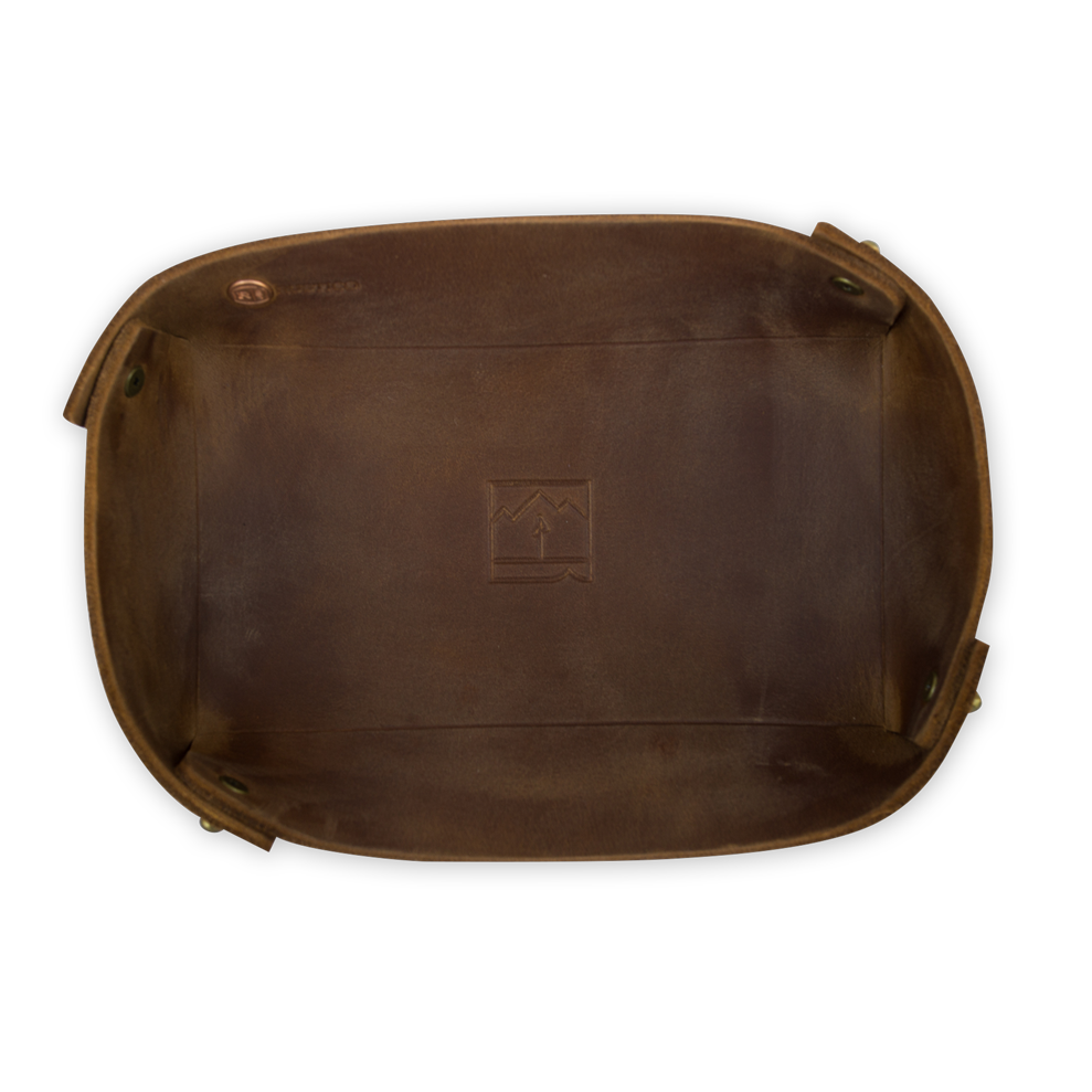 Landmark Leather Valet Tray