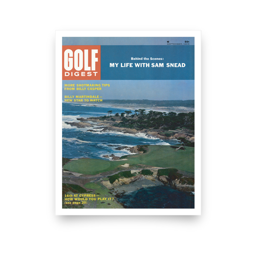 Cypress Point Golf Digest Cover Print