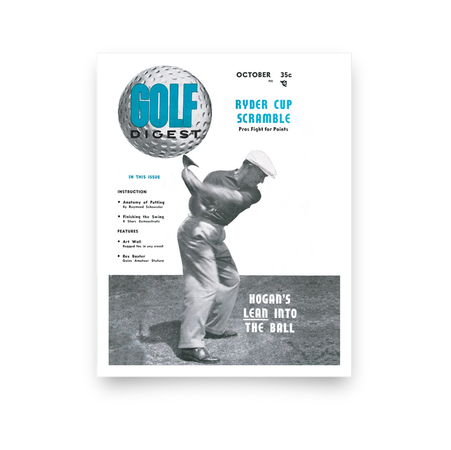Ben Hogan Golf Digest Cover Print
