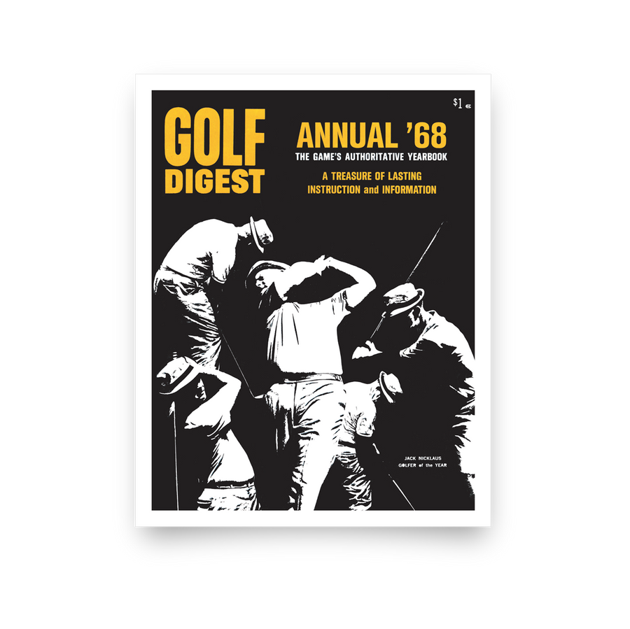 Jack Nicklaus Golf Digest Cover Print