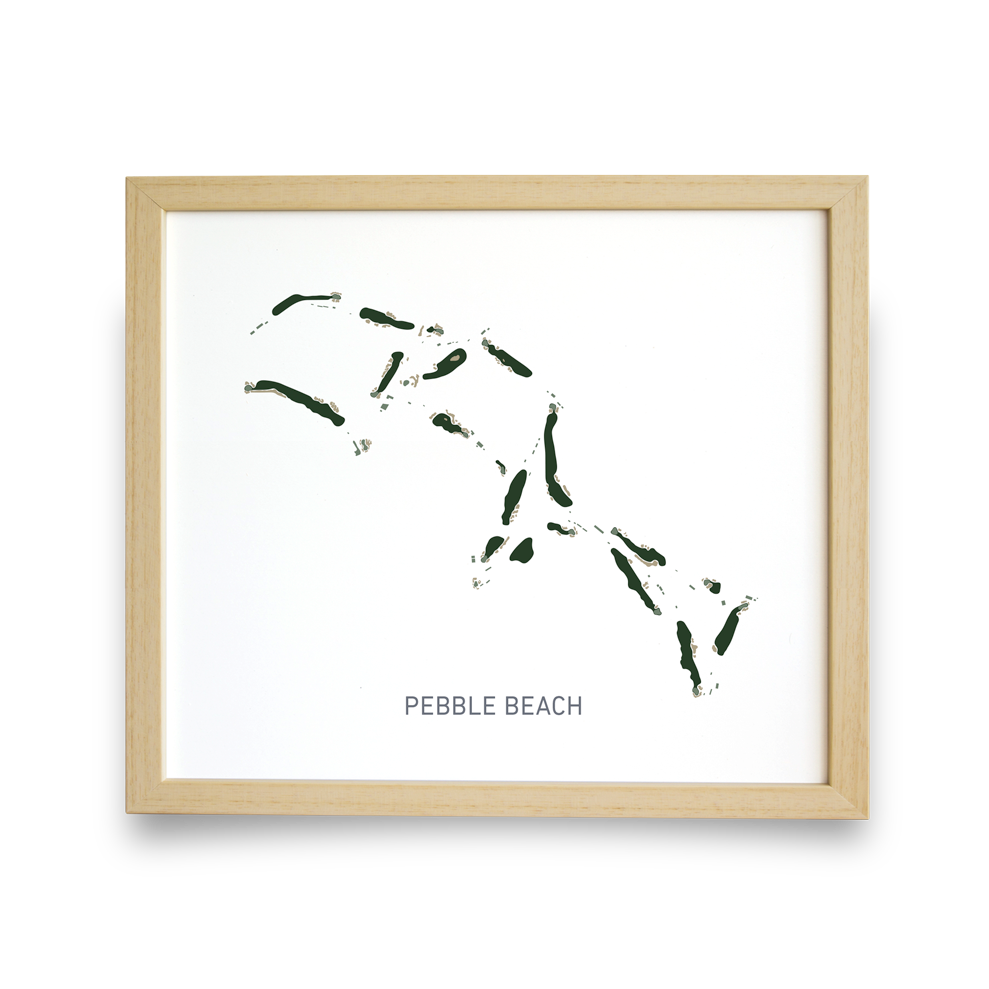 Pebble Beach (White)
