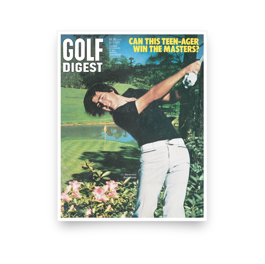 Seve Ballesteros, April 1977 // Golf Digest x L+L Series
