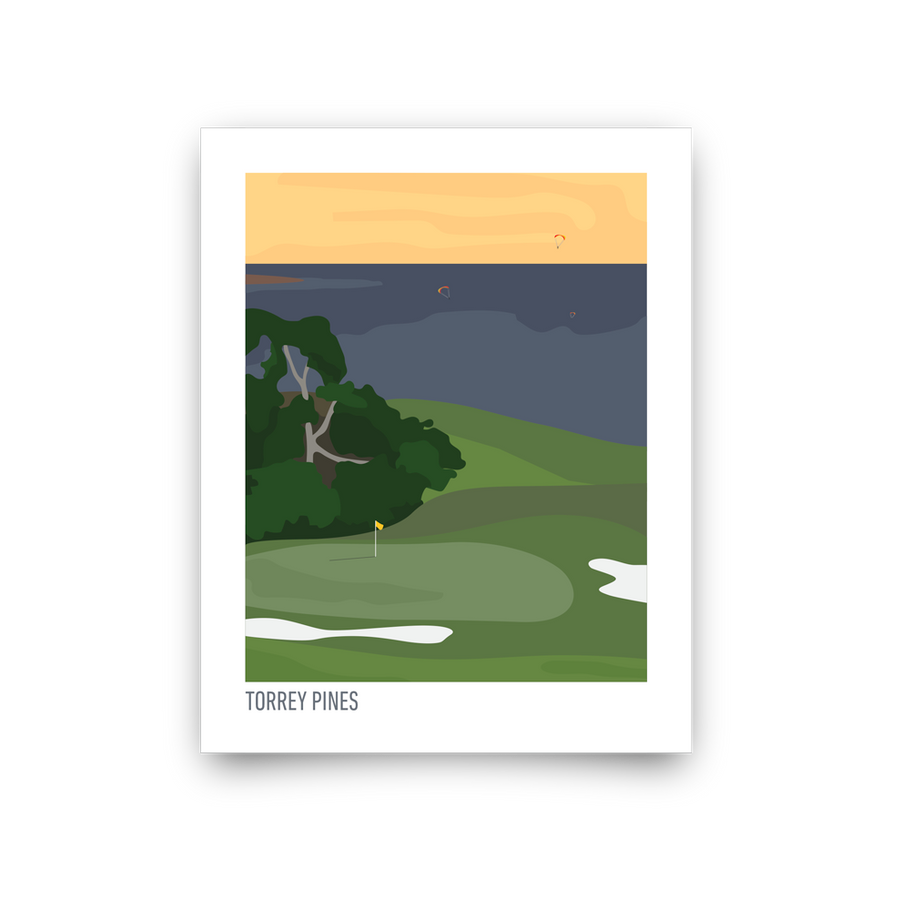 Torrey Pines (Illustration)