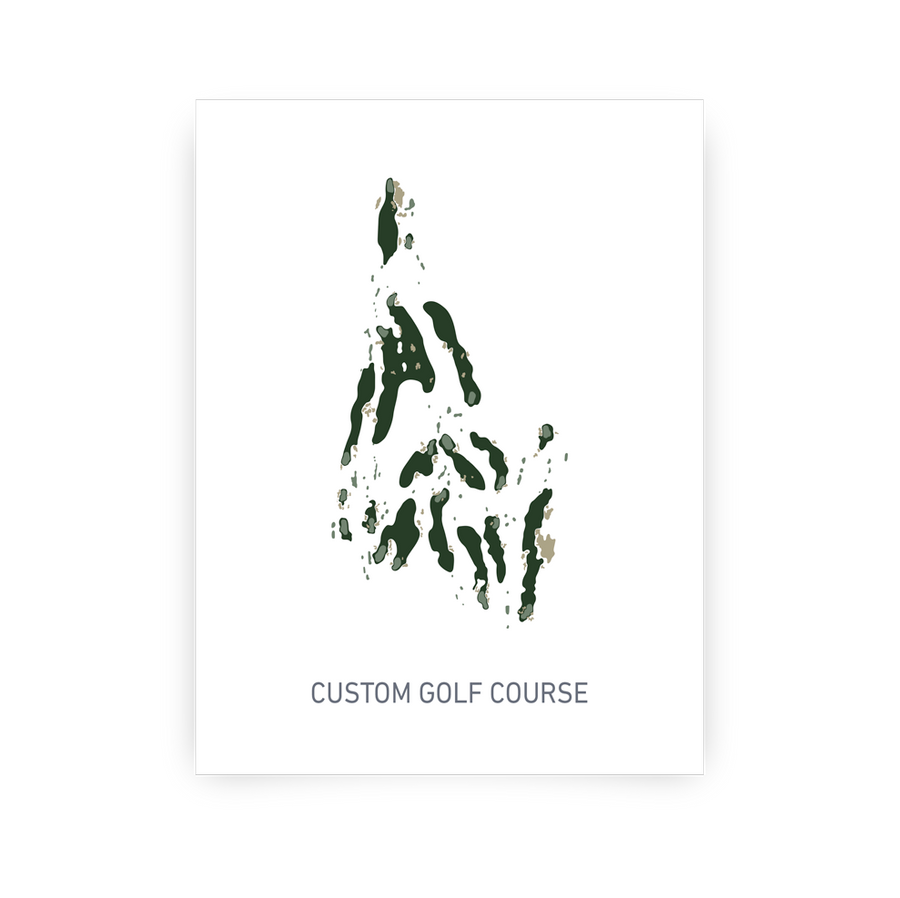 Custom Course Map - Traditional