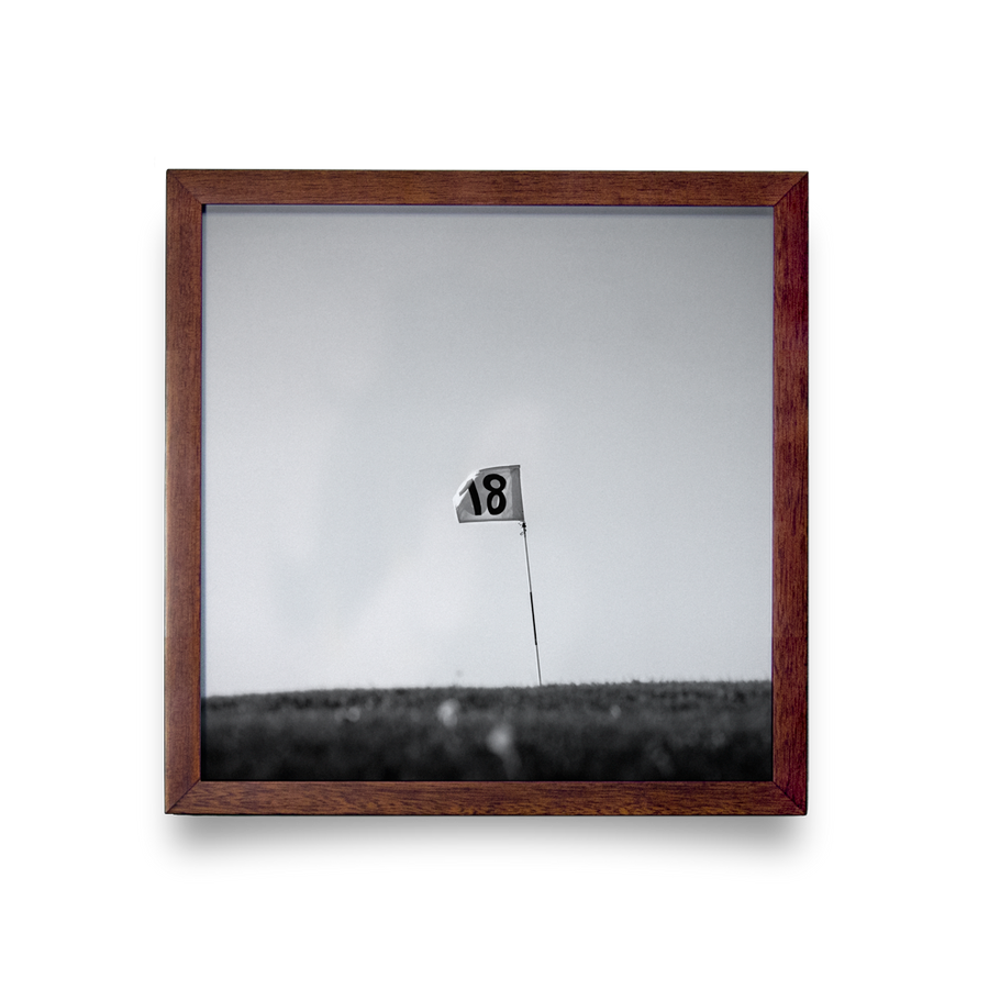 Golf Art - Finish Strong Giclée Print (No Frame)