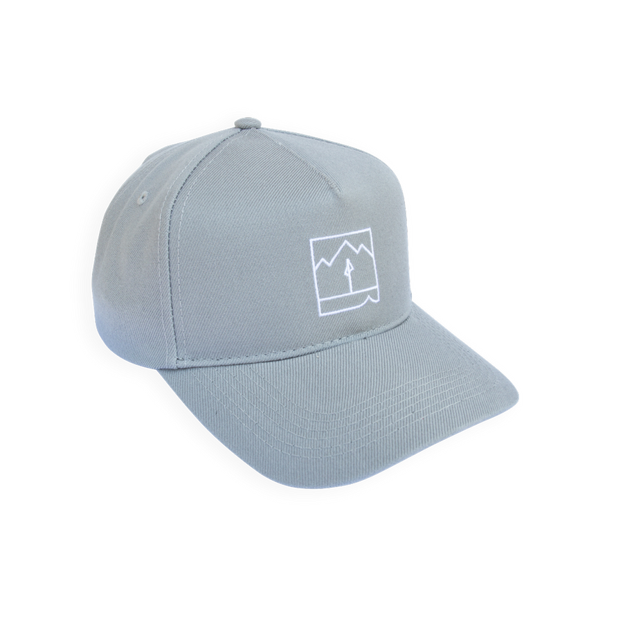 Landmark Pre-curved Hat (Gray)
