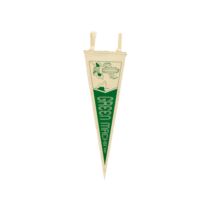 Green Machine Pennant