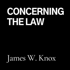 Concerning The Law (CD)