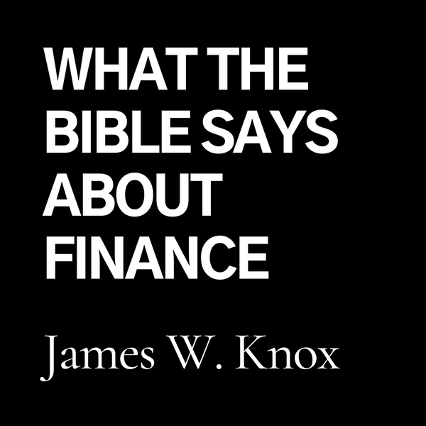 What THE BIBLE says about Finance (CD)