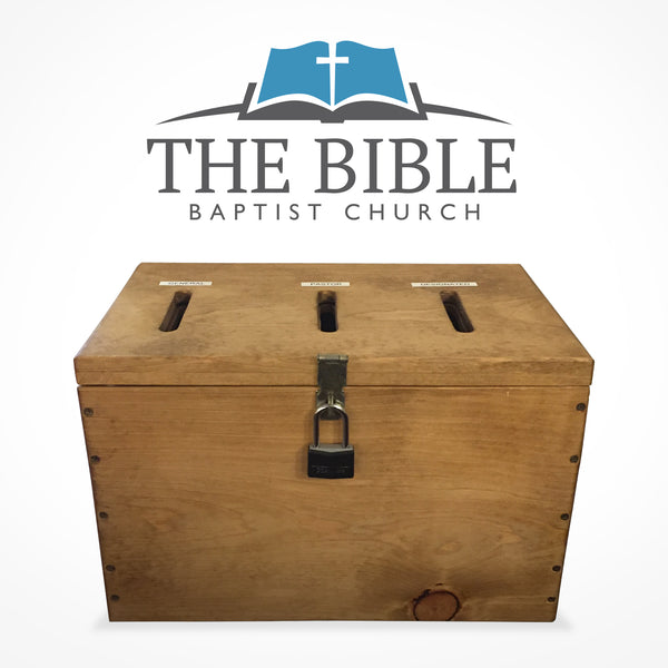 Donation - THE BIBLE Baptist Church