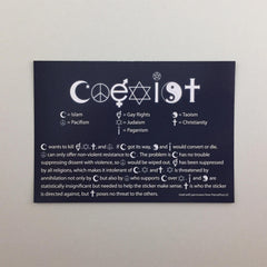 Coexist Tract (Package of 100)