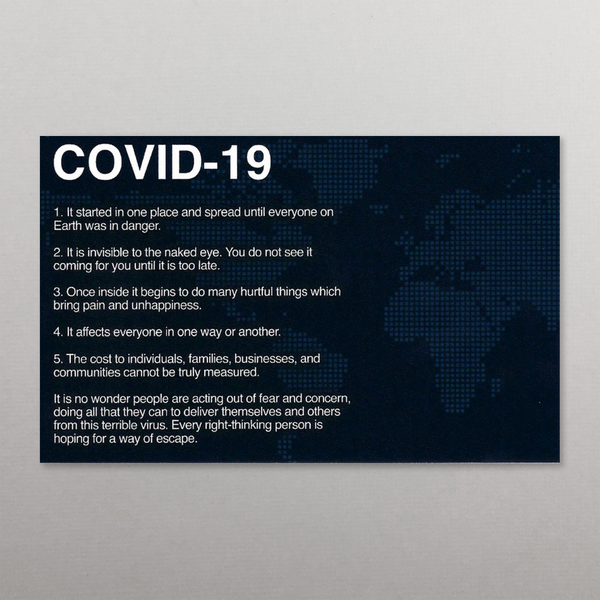 COVID-19 / SIN Tract (Package of 100)