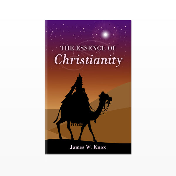 The Essence of Christianity Booklet Tract - HOLIDAY Version - ENGLISH (Package of 180)