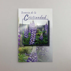 SPANISH VERSION - Esencia de la Cristiandad - The Essence of Christianity Booklet Tract