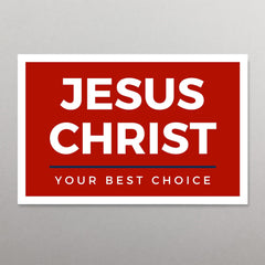 Jesus Christ: Your Best Choice Tract (Package of 100)