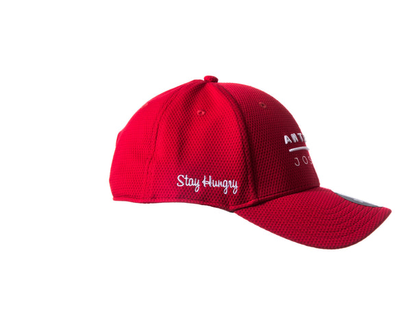 Anthony Joshua/ Under Armour: 'Stay Hungry' Snap Back Team Cap- (Red)