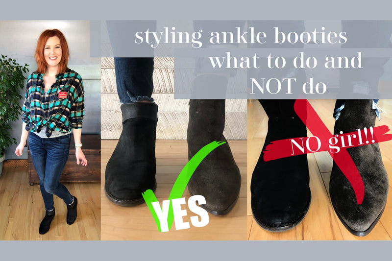 Styling Your Booties…. what to do and what NOT to do.