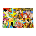 Bojanini Coasters Set of 6 - Musicians Collection