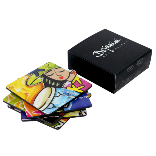 Bojanini - Coasters Set of 6 - Gallery Collection