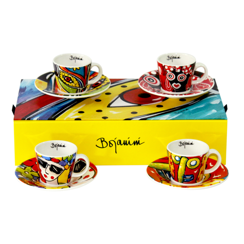 Espresso Set of 4 - Carnival Collection