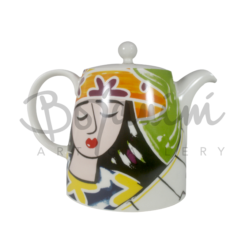 Ceramic Tea Pot - Pianist Design - Available Online