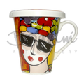 Carnival inspired el congo coffee mug