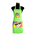 Green Carnival Apron for cooking ideal for men and women - congo