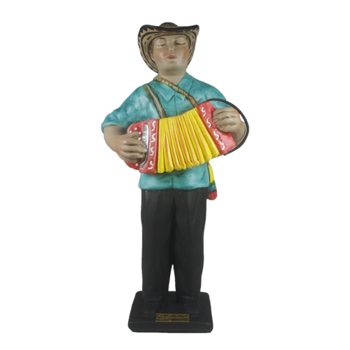 Bojanini - Figurine - Accordion player