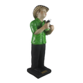 Guacharaca Player - Musical Statue as a perfect decorative accessory - Bojanini Store - Available Online