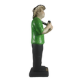 Musical decoration for musicians office & home - Painted Guacharaca Player Figurine  Shop Online
