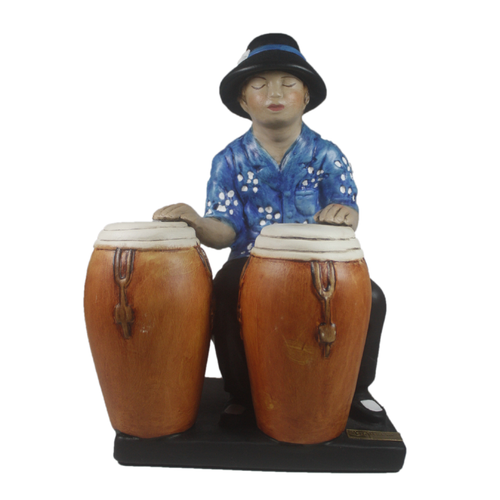 Conga Percussionist - Musical Statue as a perfect decorative accessory - Bojanini Store - Available Online