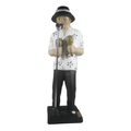 Bojanini - Figurine -Black and White - Singer