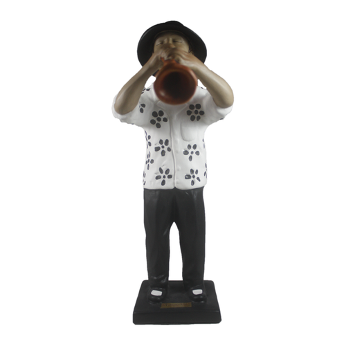 Bojanini - Figurine - Black and White - Trumpeter
