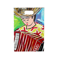 Typical Colombia´s musician inspired clipboard available online