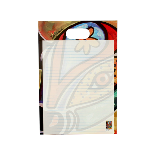 Writing pad with handle - carnival collection - el torito design - bojanini store