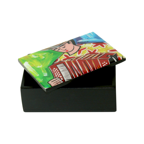 Bojanini - Business Card Box - Accordionist