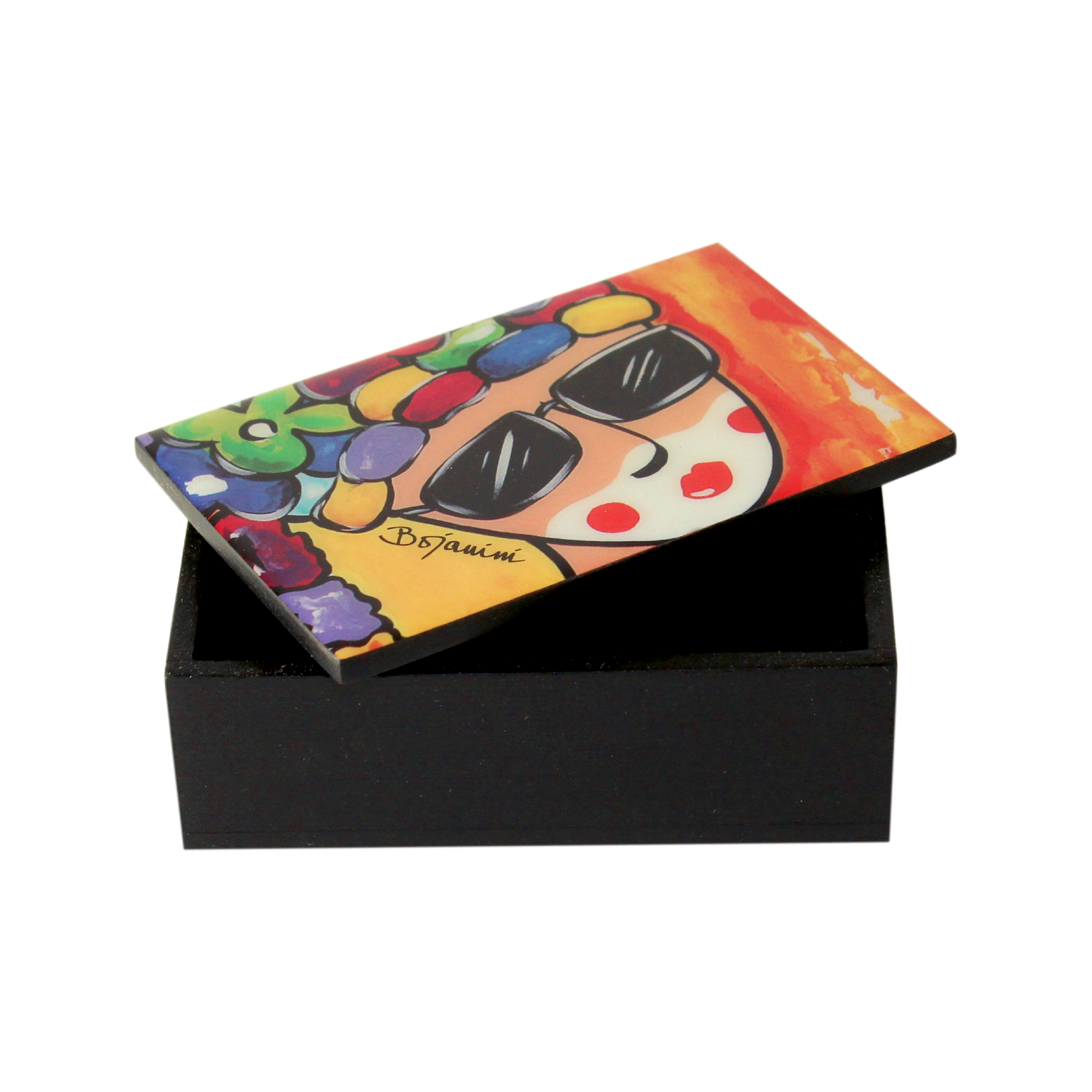 Amusing Business Card Holder fice Wood Boxes