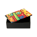 colorful business card holder