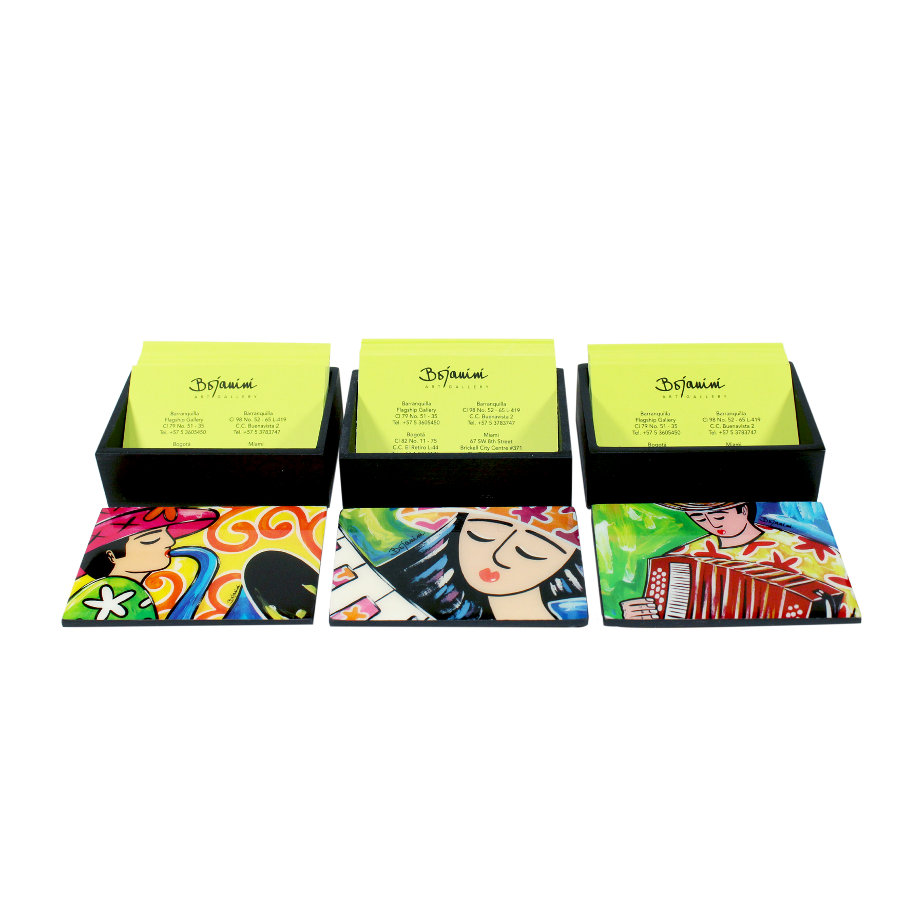Glamorous business card holder office wood boxes bojanini store buy you business card box with artistic designs reheart Images