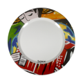 Colorful Dinnner plate - Colombian inspired Accordionist hand painted dinner plates - Bojanini Store