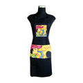 black Artistic Apron for cooking ideal for men and women