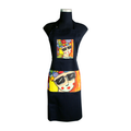 Black Carnival Apron for cooking ideal for men and women - el congo