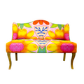 Colorful loveseat available online bojanini store