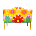 hand painted loveseat available online for living room furniture