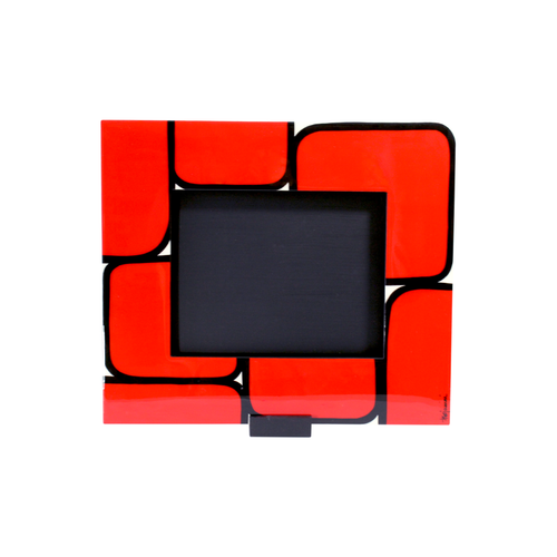 Bojanini - Picture Frame - Large - Red Squares