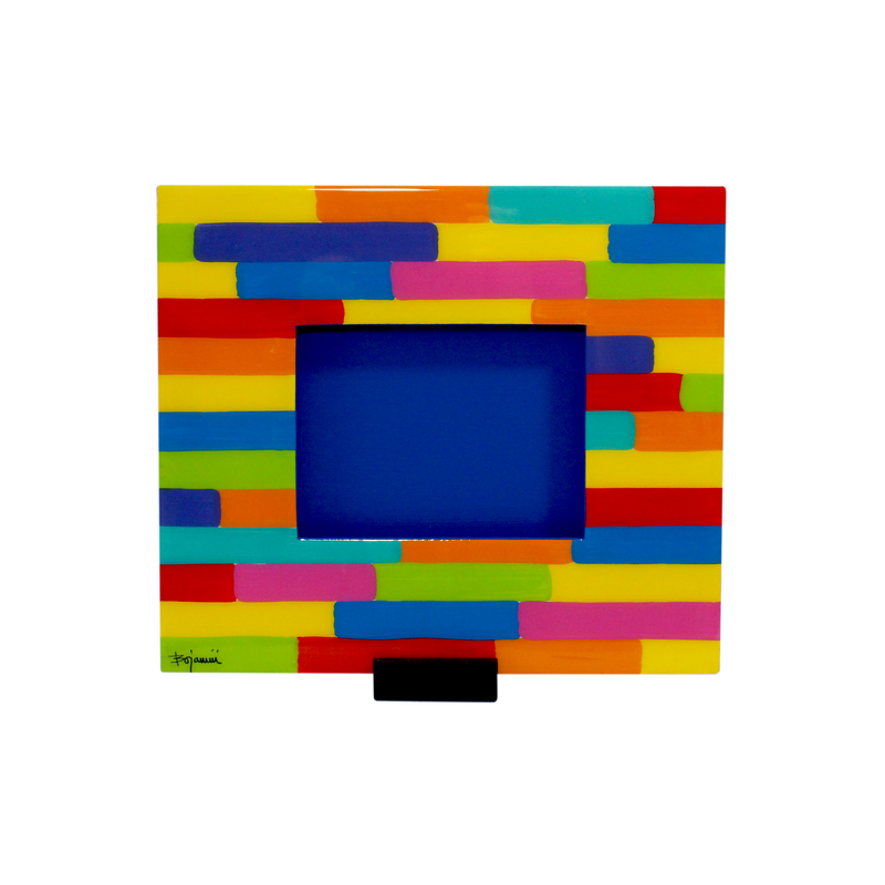 Bojanini - Picture Frame - Medium - Colorful Strokes