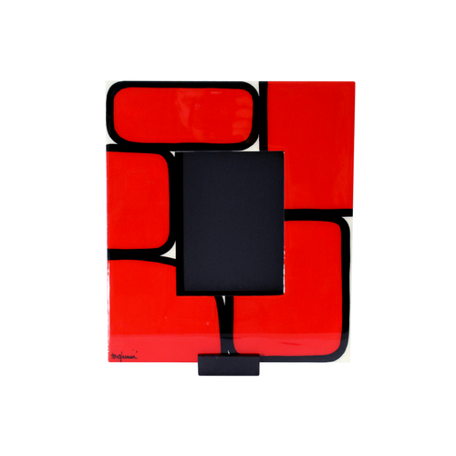 Bojanini - Picture Frame - Medium - Red Squares