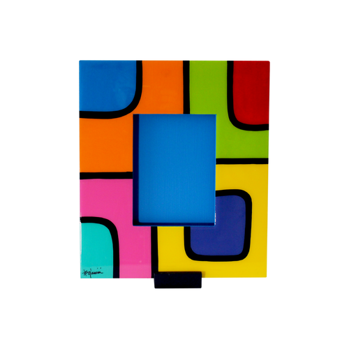 Bojanini - Picture Frame - Medium - Colorful Squares