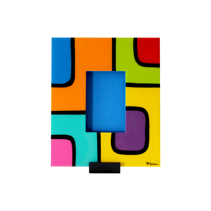 Bojanini - Picture Frame - Small - Colorful Squares