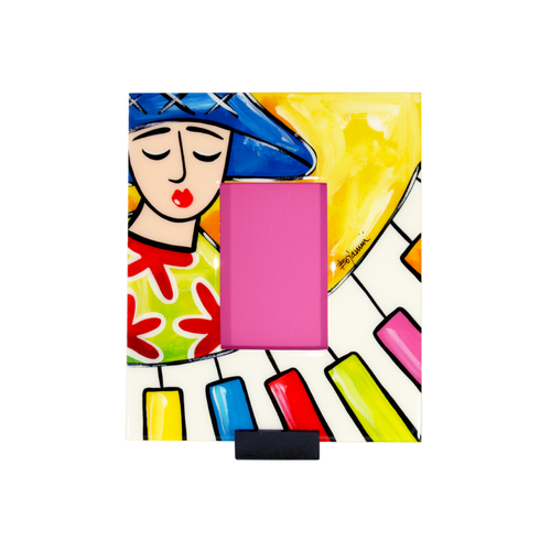 Bojanini - Picture Frame - Small - Piano Player